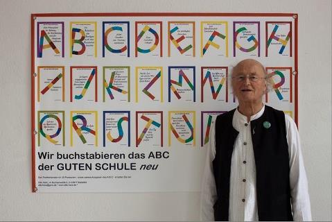 ...in Leipzig vor seinem ABC