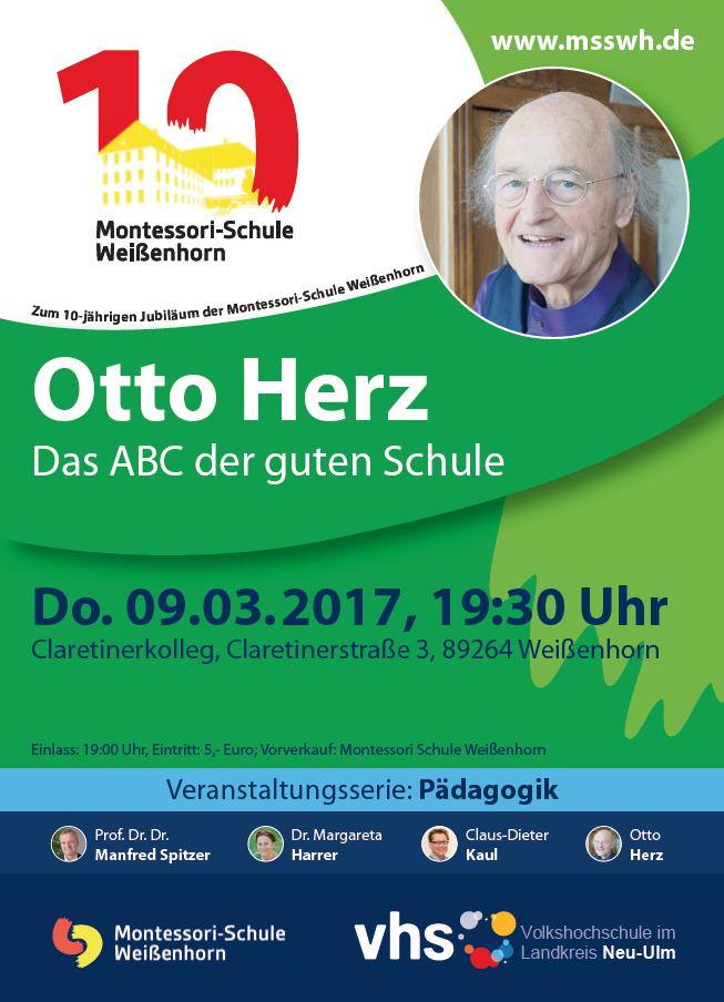 Vortrag an der Montessori-Schule Weißenhorn