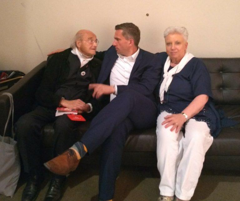 Otto Herz, Rosi Schneider, Martin Dulig